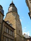Tour de l horloge, Dinan ( France ) Stock Photos