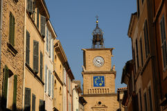Tour de L Horloge in Salon de Provence Stock Photography
