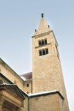 Tour de la basilique de St George à Prague Images stock