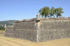 Tour de la forteresse de Valenca Images stock