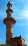 Tour de la lune, fort de Daulatabad Photo libre de droits