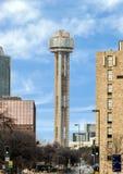 Tour de la Réunion, connue généralement comme ` le ` de boule, Dallas Texas photos stock