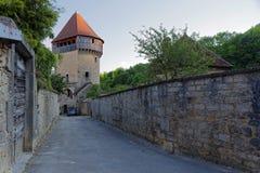 Tour de la Sergenterie. In Poligny, Jura, France Stock Photography