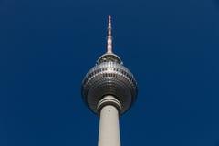 Tour de la télévision de Berlin Photographie stock