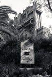 Tour de la terreur chez Walt Disney World Images stock