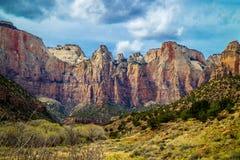 Tour de la Vierge en Zion National Park, Utah images stock
