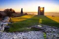 Tour de lever de soleil Images libres de droits