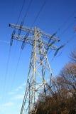 Tour de ligne électrique photographie stock