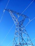 Tour de ligne électrique Photographie stock libre de droits