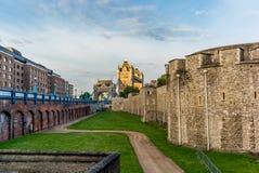 Tour de Londres dans un début de la matinée tranquille - 6 Image libre de droits