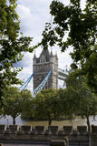 tour de Londres de passerelle Images libres de droits