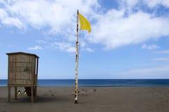 Tour de maître nageur sur la plage Images libres de droits