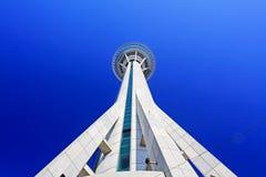 Tour de Macao et ciel bleu, Macao, Chine Images stock