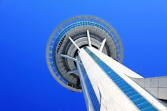 Tour de Macao et ciel bleu, Macao, Chine Image stock
