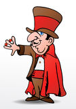 Tour de magicien Photographie stock libre de droits