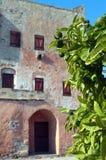 Tour de Markellos à l'île d'Aegina en Grèce Photo stock