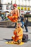 Tour de moines de méditation Images stock