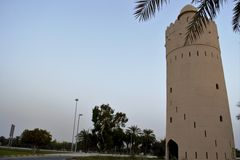 Tour de montre, Al Maqta, Abu Dhabi Photographie stock libre de droits