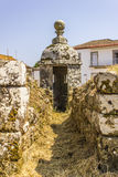 Tour de montre dans un fort - Portugal Photo stock