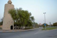 Tour de montre, jonction, Al Maqta, Abu Dhabi Images libres de droits