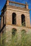 Tour de mosquée à la La d'Almonaster vraie photos stock