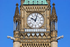 Tour de paix des constructions du Parlement, Ottawa Photo stock