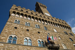 Tour de Palazzo Vecchio, Florence photos libres de droits