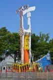 Tour de parc d'attractions Photos libres de droits