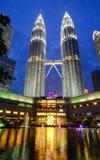 Tour de Petronas à Kuala Lumpur, Malaisie Photos stock