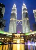 Tour de Petronas à Kuala Lumpur, Malaisie Image libre de droits