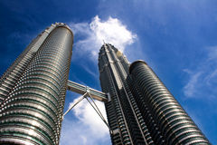 Tour de Petronas Images libres de droits