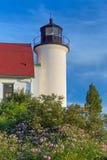 Tour de phare de Betsie de point image stock