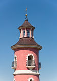 Tour de phare, Moritzburg Photo stock