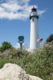 Tour de phare, Racine, WI image stock