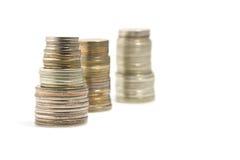 tour de pièces de monnaie photographie stock