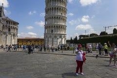 Tour de Pise, Toscane, Italie photo stock
