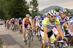 Tour De Pologne royalty free stock image