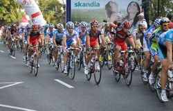 Tour DE Pologne Royalty-vrije Stock Afbeeldingen