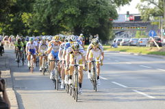 Tour de Pologne 2009 Stock Photos