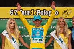 Tour de Pologne 2010 - DAVIS Allan Stock Photo
