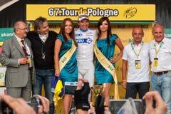 Tour de Pologne 2010 - HUTAROVICH Yauheni Royalty Free Stock Image