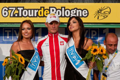 Tour de Pologne 2010 - JANIACZYK Blazej Royalty Free Stock Photos