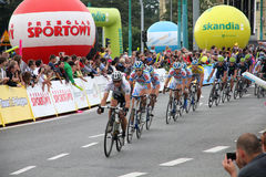 Tour de Pologne Royalty Free Stock Images