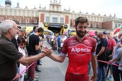 Tour DE Pologne 2017 ALPECIN TEAM Stock Afbeelding