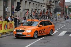 Tour de Pologne - CCC team Royalty Free Stock Images