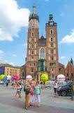 Tour de Pologne. 2014 Cracovia Stock Photos