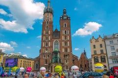 Tour de Pologne. 2014 Cracovia Stock Images
