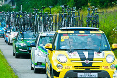 Tour de Pologne 2014 Stock Photo