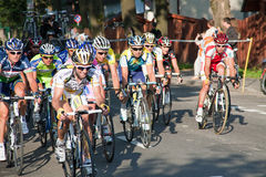 Tour de pologne cycling race Stock Image
