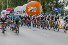 Tour de Pologne 2017 Stock Photo